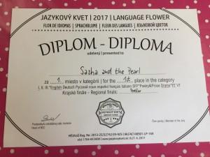 jazykový kvet,